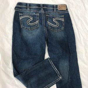 Silver Denim Plus Size Jeans Size 16 short